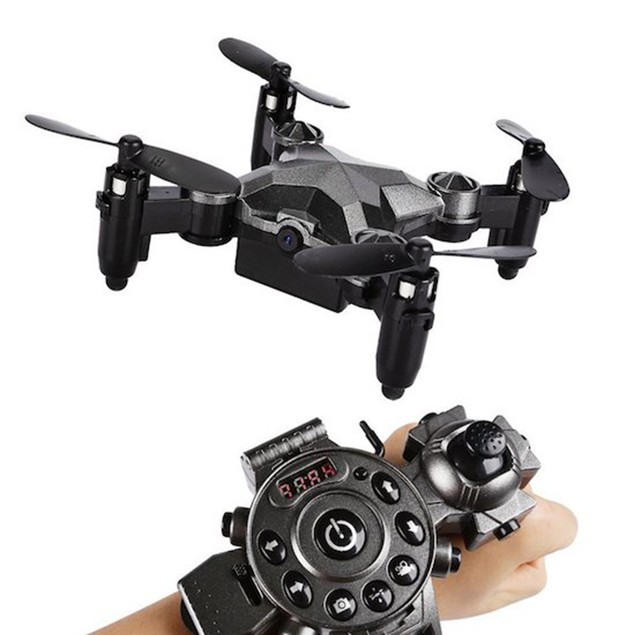 Watch Drone w/ FPV Camera & Foldaway Arms