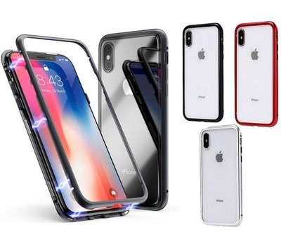 3 Pack Magnetic Case for iPhone XS/X Was: $39.99 Now: $8.99.