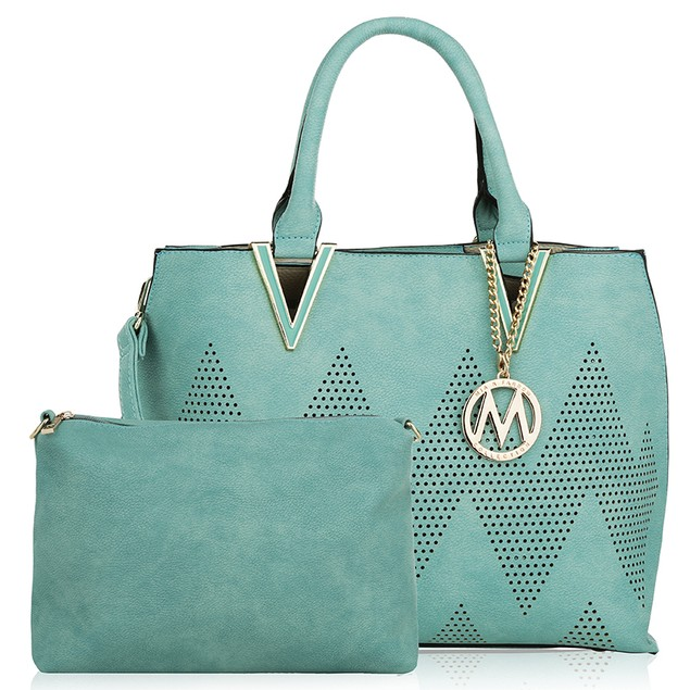 MKF Collection Mercy 2 in 1 Tote and Crossbody Handbag by Mia K.
