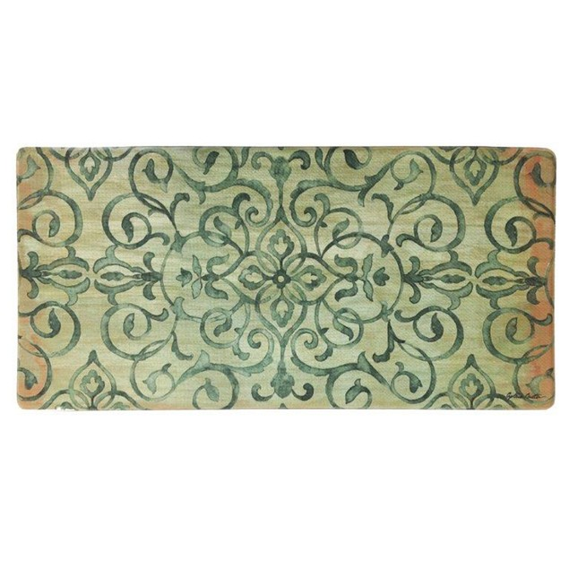"Nicole Miller Oversized 20"" x 39"" Anti-Fatigue Embossed Floor Mat"