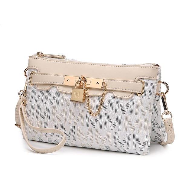 MKF Collection Serenity M Signature Crossbody Wristlet by Mia K.