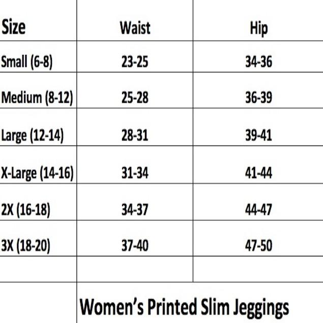 Women's Printed Slim Leggings