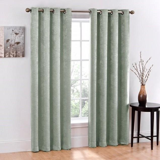 Ruthy's Textile 2 Piece Blackout Window Curtain Grommet Panels
