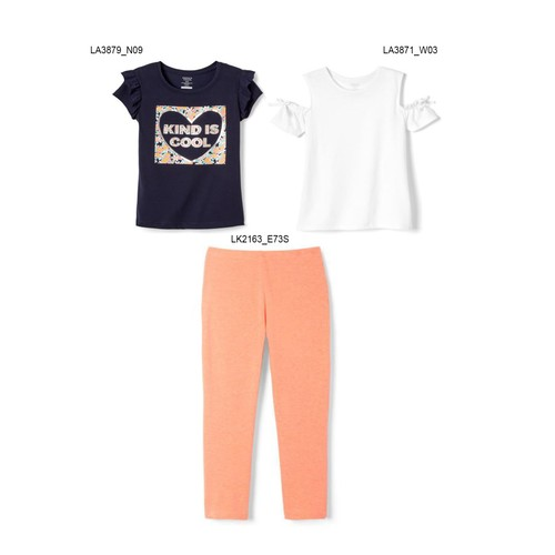 3-Pack French Toast Girls Summer Set - Kind is Cool