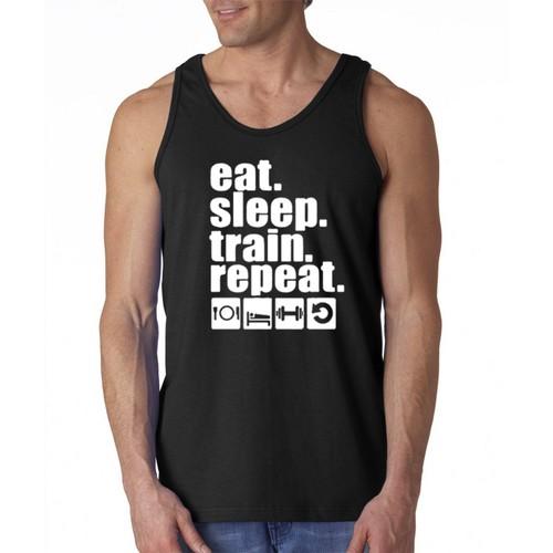 EatSleep Graphic Tank Top
