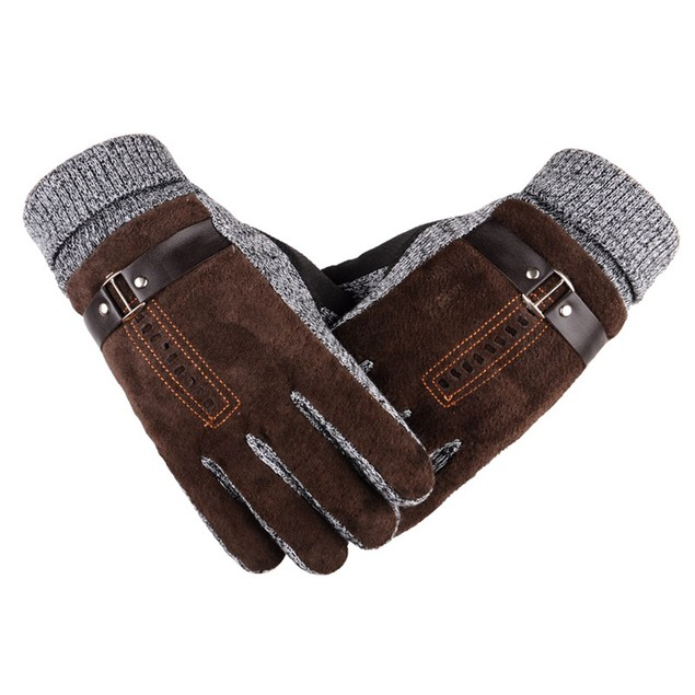 Men's Anti-Skid Windproof Thermal Gloves