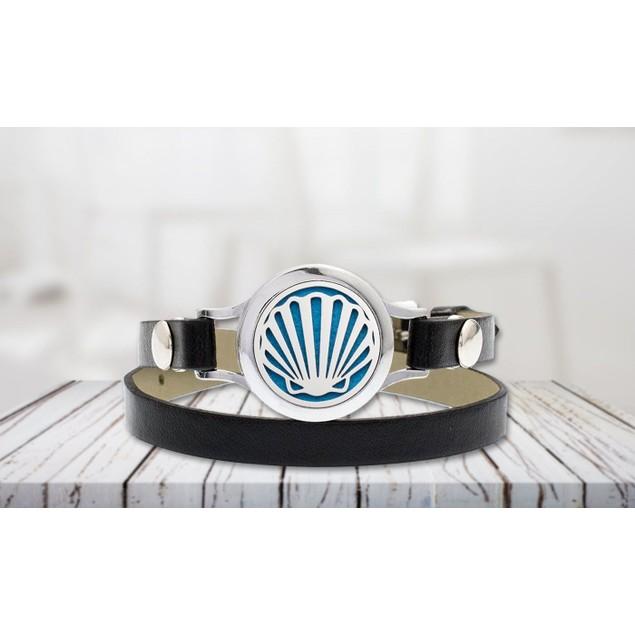 Designer Essential Oil Diffuser Bracelet with Optional Essential Oil