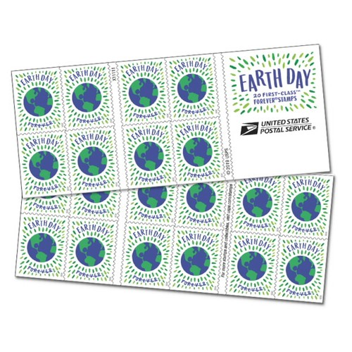 20 Pack US Earth Day 50th Anniversary USPS Forever Postage Stamps