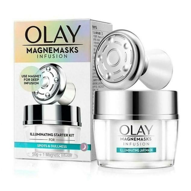 Olay Magnemask Starter Kit (Whitening Mask + Magnetic Infuse)
