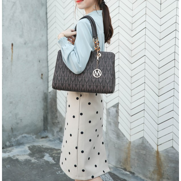 MKF Collection Sirna M Signature Tote Bag