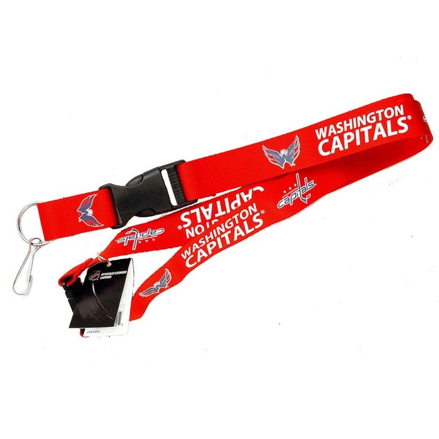 NHL Sports Team Clip Lanyard Keychain Id Ticket Holder