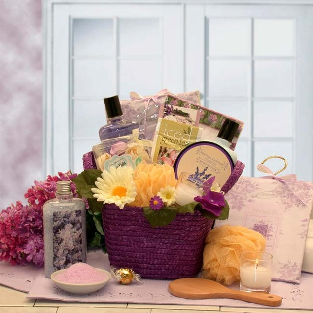 The Healing Spa Gift Basket