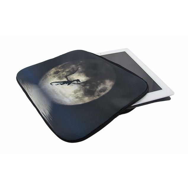 Julie Fain `Dragon Moon` Neoprene Tablet Sleeve Touch Screen Tablet