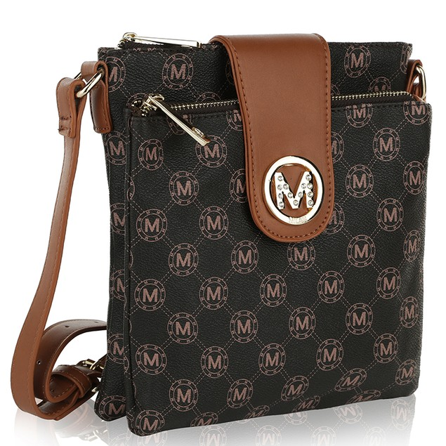 MKF Collection Sasha M Signature Cross Body Bag by Mia K