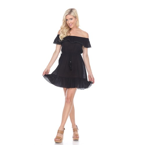 Smocked Off Shoulder Anita Dress - 4 Colors