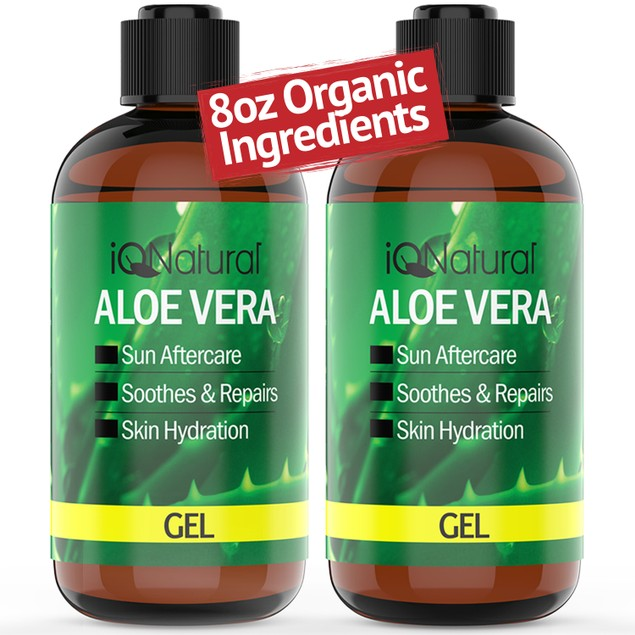 Organic Aloe Vera Gel - Made in USA