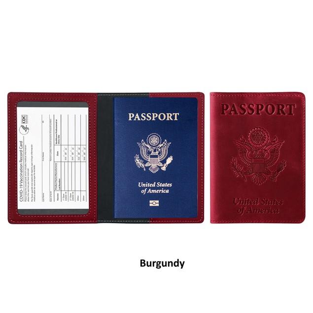 Passport & CDC Vaccination Card Holder