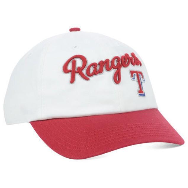 "Texas Rangers MLB 47' Brand ""Women's Beth"" Adjustable Hat"