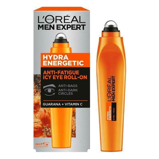 2-Pack L'Oreal Men Expert Hydra Energetic Anti-Fatigue Icy Eye Roll-On