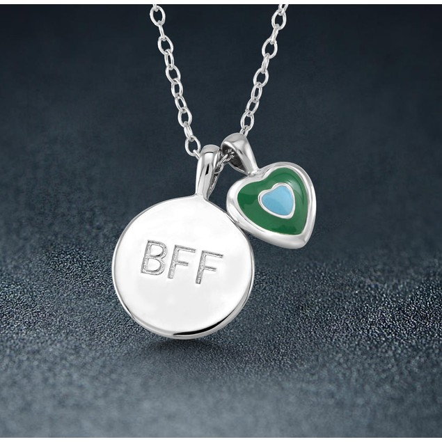Sterling Silver BFF Necklace