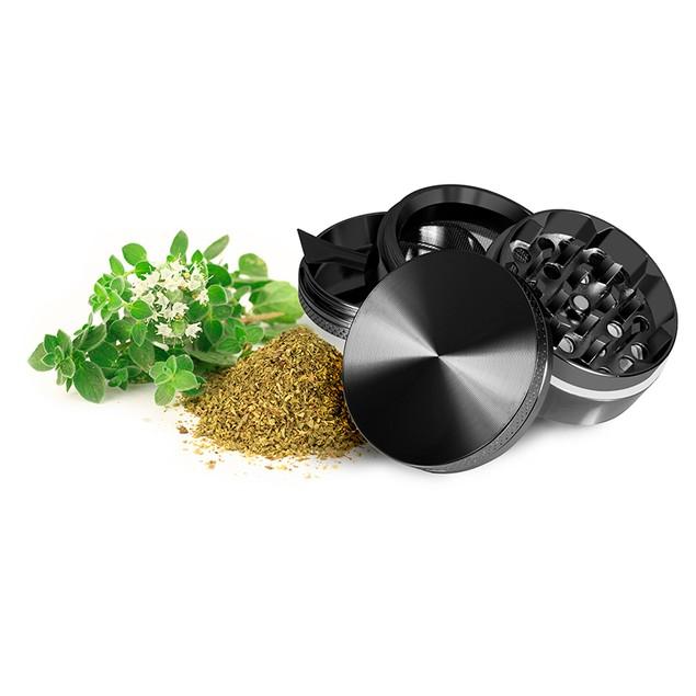 Titanium Herb Grinder (5 Piece)