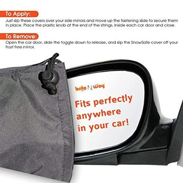 Heavy Duty Bundle: Windshield & Wiper Ice Protector w/ FREE Mirror Covers