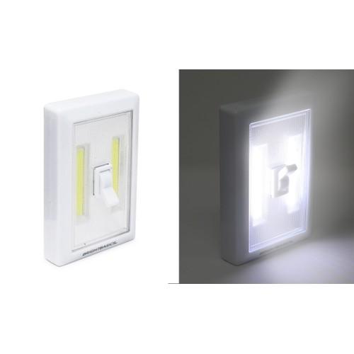 3-Pack: Bright Basics Wireless LED Light Switch w/ Batteries