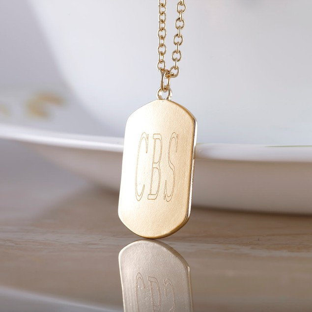 Personalized Double Sided Necklace
