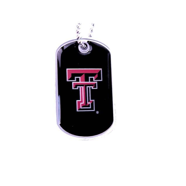 NCAA Dog Tag Necklace Charm Chain
