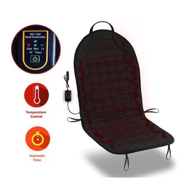 Zone Tech Steering Wheel & Heated Seat Bundle