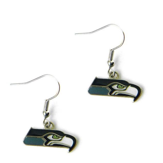 NFL Sports Team Dangle Logo Earring Set Charm Gift