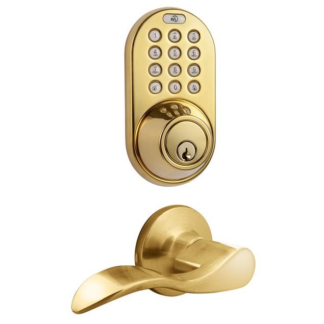MiLocks Keyless Entry Keypad Deadbolt and Passage Lever Handle Combo Lock