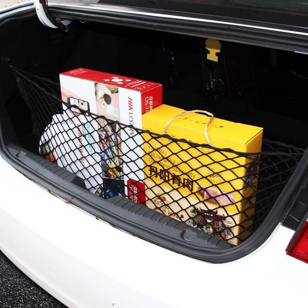 Zone Tech Mesh Storage Net Trunk Cargo Organizer 3 Mounting Options