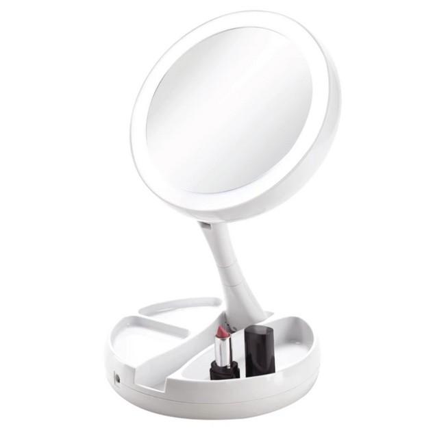 Vivitar Fold Away Led Double Sided Vanity Mirror Tanga