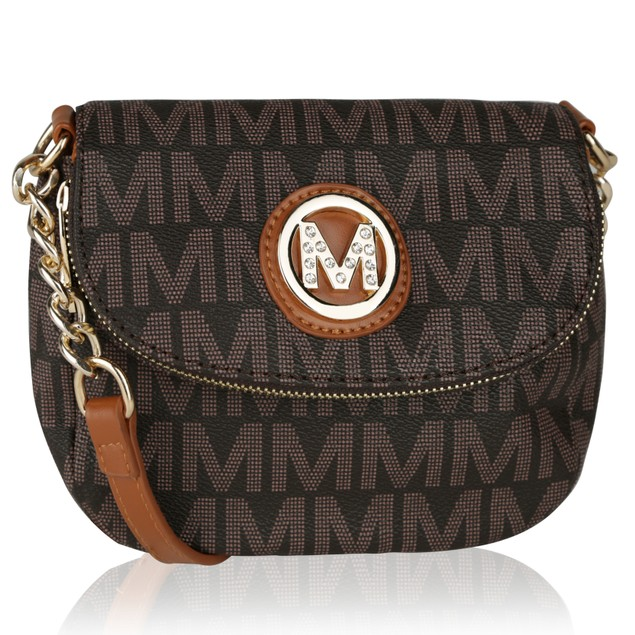 MKF Collection York M Signature Cross body by Mia K