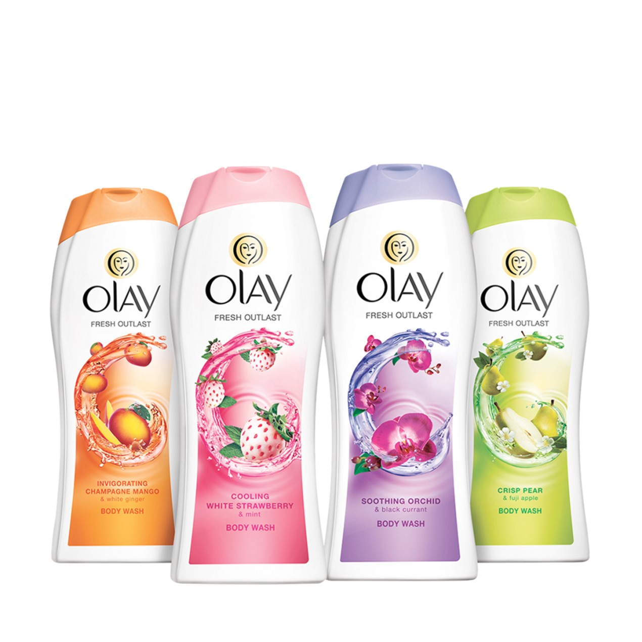 10-Pack Olay Fresh Outlast Body Wash
