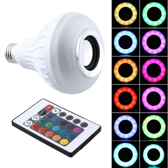 RGB LED Speaker Bulb