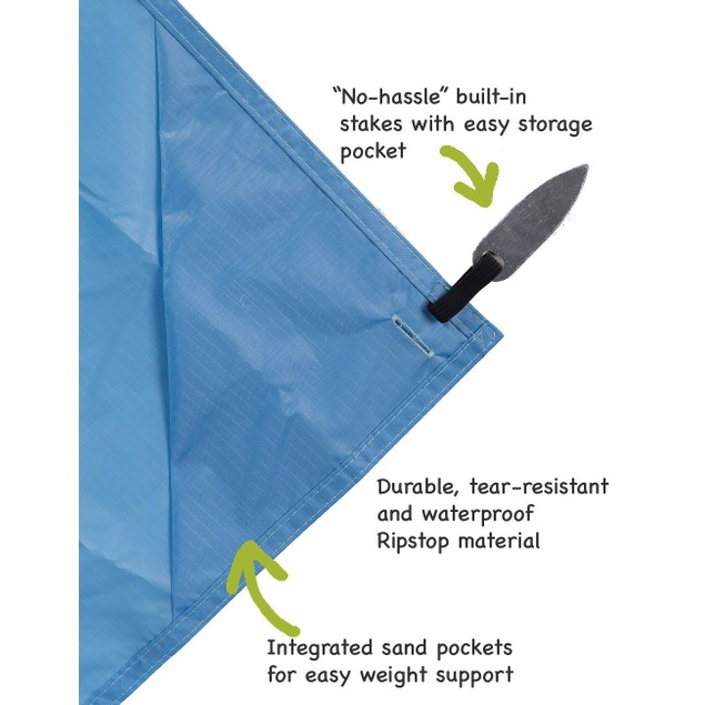 """Outdoor and Travel """"On-The-Go"""" Pocket Blanket"""