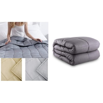 """100% Cotton Weighted Blanket 48"""" x 72"""" (20 lbs)"""