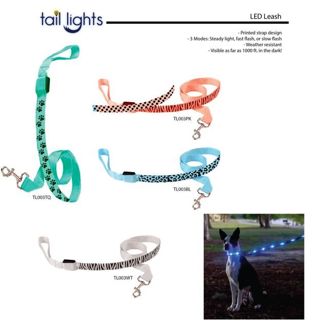 Tail Lights LED Pet Safety Leash