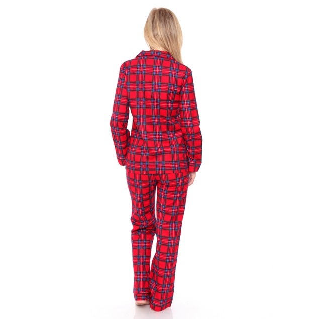 100% Cotton Flannel Pajama Set