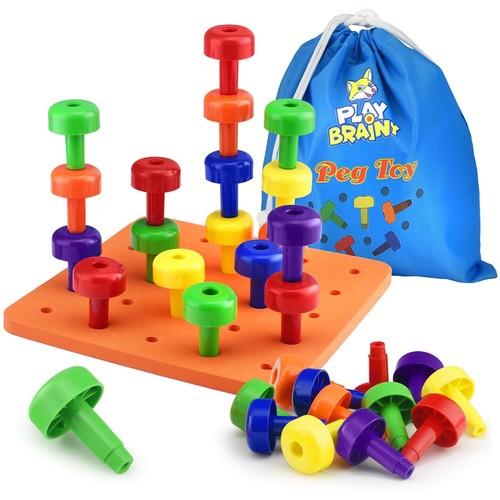 Play Brainy Peg Toy Set