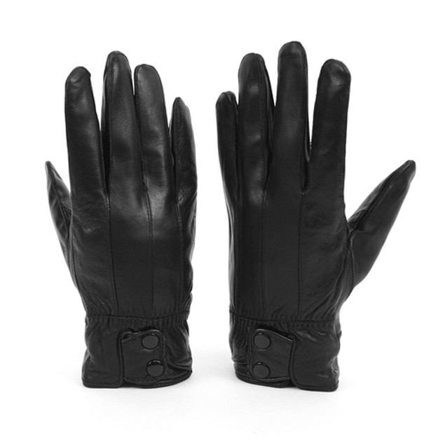 Genuine Leather Mens Winter Gloves