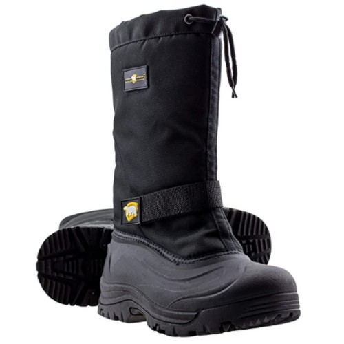Mens Cold Weather Waterproof Durable Insulated Tall Winter Snow Boots