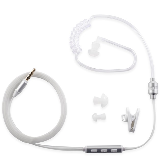 Professional Security Headset Earpiece for iPhone or Android