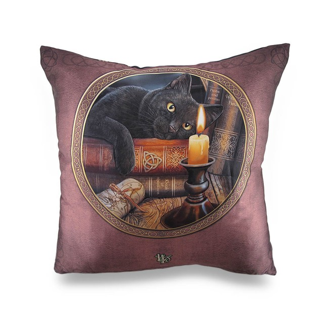 The Witching Hour Decorative Throw Pillow By Lisa Throw Pillows