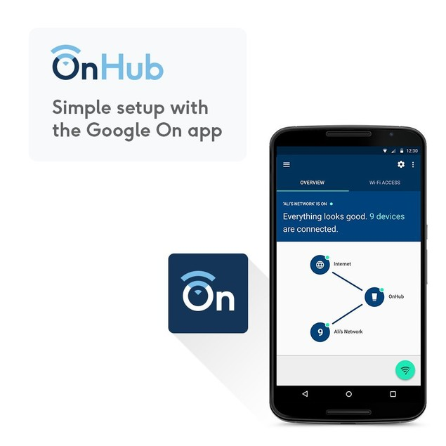 TP-Link OnHub AC1900 Wireless Router (Managed by Google On App)