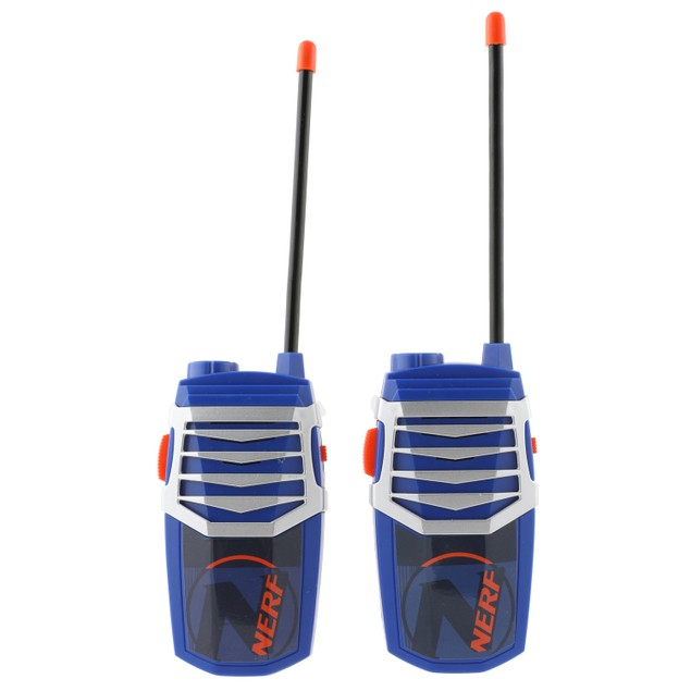 NERF 3-in-1 Walkie Talkies Set w/ Base Station