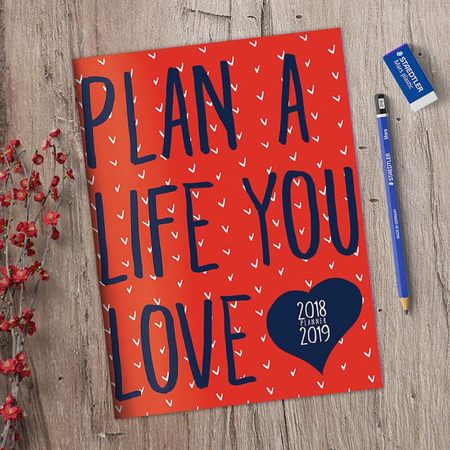 July 2018 - June 2019 Monthly Planners - 18 options!