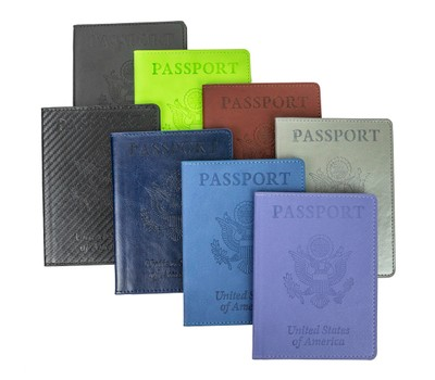 Passport Holder with CDC Vaccination Card Protector - 8 Colors Was: $39.99 Now: $10.99.